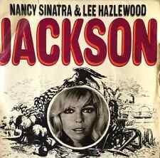 "NANCY SINATRA & LEE HAZLEWOOD - Jackson EP (7"") (VG+/VG+)"