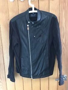 Armani-Mens-Jacket-Large-EU-48-Half-Leather