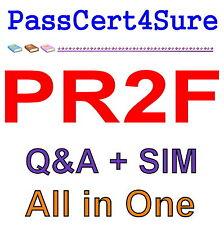 PRINCE2 Foundation PR2F Exam Q&A PDF+SIM