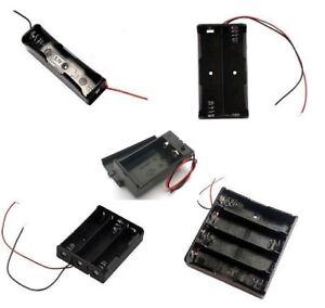 18650-Battery-Holder-box-case-3-7-Box-multi-choice-1-2-3-4-cell-9v-pp3-uk
