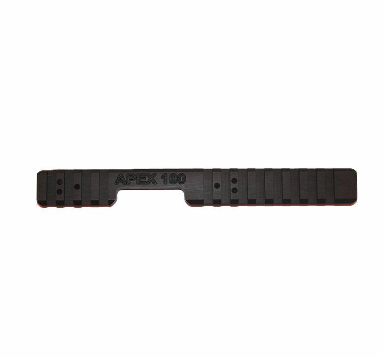 Weihrauch HW100 PC Air Rifle Aluminium Extended Picatinny Rail