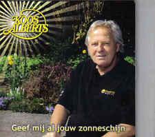 Koos Alberts-Geef Mij Al Jouw Zonneschijn cd single