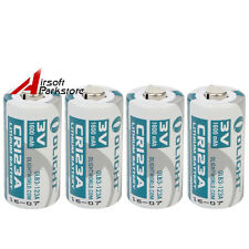 4pcs Olight CR123A 3.0V 1600mAh Battery For SureFire Flashlight Torch Camera