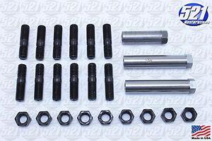 Mopar-Exhaust-Manifold-Hardware-Kit-Studs-Sleeve-Nuts-68-74-383-440HP-B-E-Body