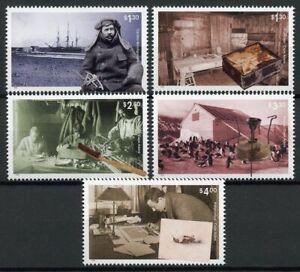 Ross-Dependency-NZ-Stamps-2019-MNH-Cape-Adare-Antarctica-Exploration-5v-Set