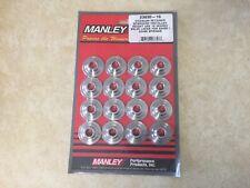 "Manley Engine Valve Spring Retainer Set 23666-16; 1.440/"" OD 7° 4140 Chromoly"