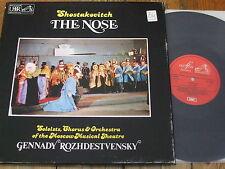 SLS 5088 Shostakovich The Nose / Rozhdestvensky etc. 2 LP box