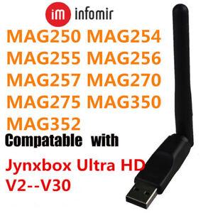 Verwonderlijk Wireless USB WiFi Adapter For MAG 256 MAG 254 RALINK 5730 Chipset DR-12