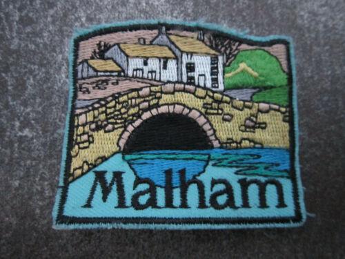 L24S Malham Woven Cloth Patch Badge