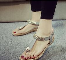 Women Gray new trendy casual comfy flat sandal