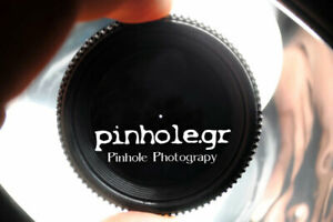 Pinhole Lens Cap for Nikon F mount cameras by pinhole.gr