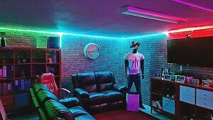 Smart-HOME-LED-Strip-150-LED-IN-OUT-5-Meter-sprachgesteuert-Alexa-Google