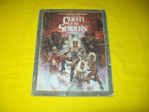GDQ 17 QUEEN OF THE SPIDERS DUNGEONS & DRAGONS AD&D SUPERMODULE TSR 9179 2