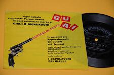 "7"" 45 FLEX DISC (NO LP ) ALBERTO RABAGLIATI SCOUBIDOU OTTIME CONDIZIONI"
