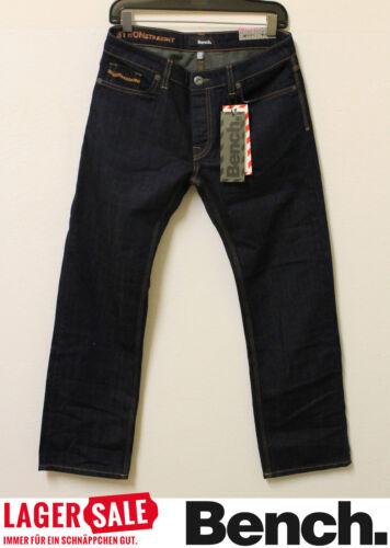 Bench Herren Jeans Hose Byron Straight Denim Neu mit Etikett BMMA0078-1