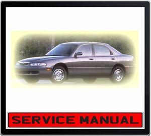 Mazda 626 mx6 ge 1992-1997 service repair manual in dvd | ebay.