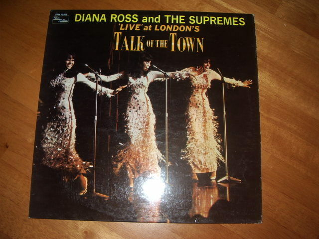 DIANA ROSS & THE SUPREMES - LIVE AT LONDON'S TALK OF THE TOWN !VG 1st 1968 PRESS