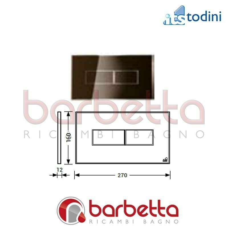 PLACCA STYLE BRONZO MAGNETICA ITS TODINI 20.15 S BR M