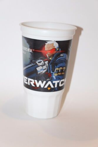 TACO BELL BLIZZARD OVERWATCH SOLDIER 76 COLLECTIBLE CUP NEVER USED NEW