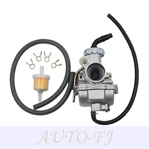 2scets PZ20 Carburetor Carb 50 70 90 110 125 135cc ATV Quad Go kart UTV SUNL JCL