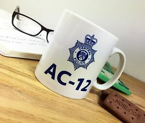 Personalised-Line-of-Duty-MUG-AC-12-AC12-AC-12-Novelty-Police-Bent-Copper