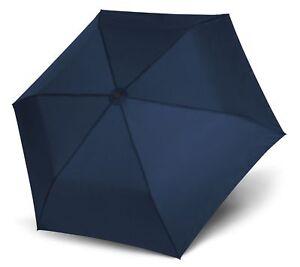 Damen-accessoires Doppler Zero,99 Regenschirm Accessoire Uni Deep Blue Blau Neu