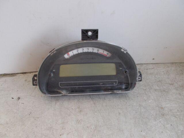 CITROEN C3 1.4L DIGITAL SPEEDOMETER P9660225780