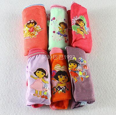 New 6 Pairs Popular Girl Kids Girl's Briefs Panties Underpants Underwear A278