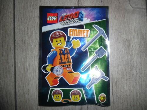 Outil NOUVEAU /& NEUF dans sa boîte Lego Movie minifigur Emmet