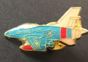 Air Force F-100C Airplane Enamel Lapel Pin U.S