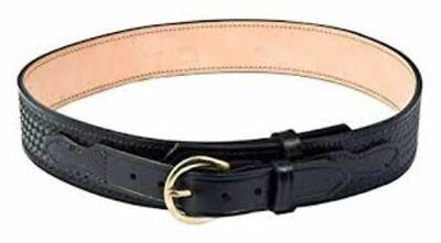 Brass Size 32 Gould /& Goodrich B52 Garrison Belt Black