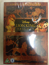 The Lion King Complete Trilogy Region 2 UK DVD Free UK P&P