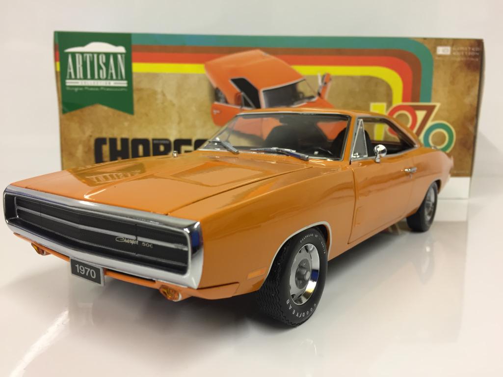 1970 Dodge Caricabatterie 500 Artisan Collezione Greenlight 19028 Scala 1:18
