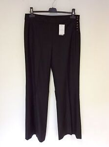 new season well known look good shoes sale Details about BNWT JOSEPH BLACK WOOL FORMAL TROUSERS SIZE 42 UK 14