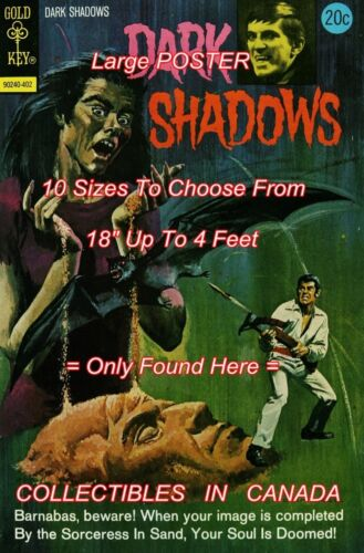 "DARK SHADOWS 1974 #24 Barnabas BAT = POSTER 10 SIZES Not Comic Book 18/"" 4 FT"