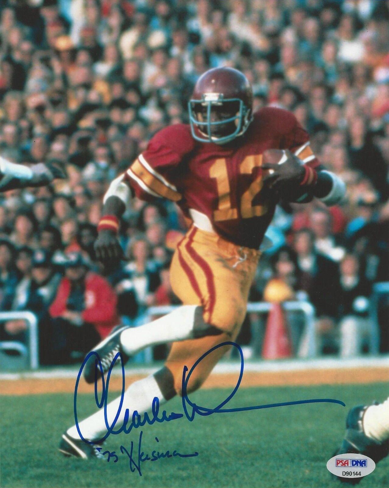 Charles White USC Trojans signed 8x10 photo PSA/DNA #D90144