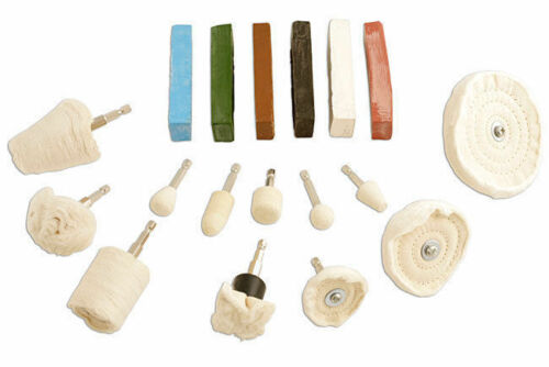 Polissage Kit-Polissage Et Polissage Roues nettoie en plastique en laiton en acier inoxydable