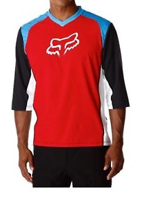 Fox-Attack-3-4-Jersey-Red-Blue-Size-Large