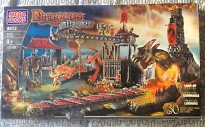 Mega Bloks 9812 - Dragons Metal Ages - Armory Odaku 2005 Box Originale