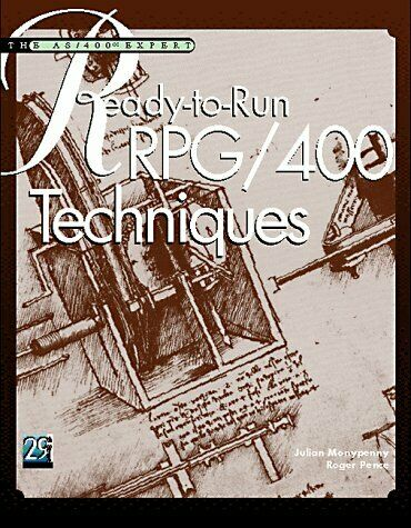AS 400 Expert  Ready-to-Run RPG 400 Techniques