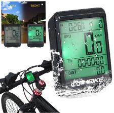 Wireless Bicycles Computer Large Digital Bike Computer Odometer Speedometer U6T8