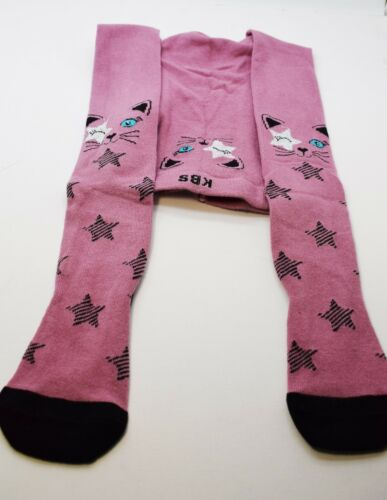 Fashion Antibacterial Fragrant 3D Girls Boys Tights Kids Cotton Warmers