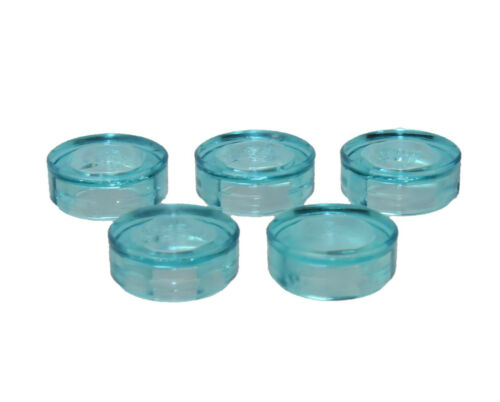 98138 LEGO® 5x Fliese 1x1 hellblau transparent 6022171