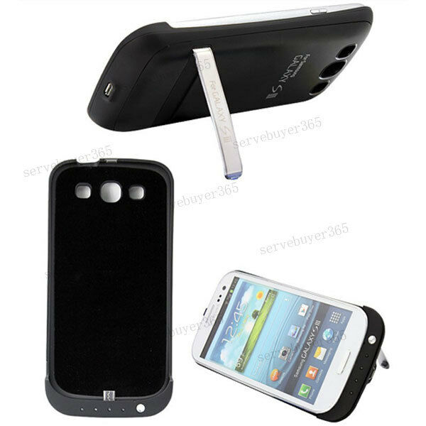 Backup Pack Battery Charge Case Cover For Samsung Galaxy S3 SIII i9300 I9308 New