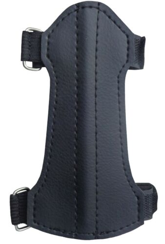 FINE SYNTHETIC LEATHER ARM GUARD 14cm LONG x 7cm WIDE SAG-214.YOUTH