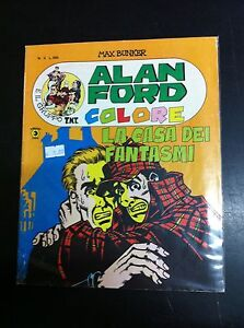 ALAN FORD COLORE - LA CASA DEI FANTASMI - n° 4 - Corno