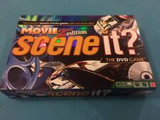 Scene It? MOVIE 2nd Edition DVD Family Board Game - 100% COMPLETE!