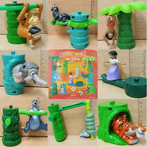 McDonalds-Happy-Meal-Toy-2003-Walt-Disney-Jungle-Book-Plastic-Toys-Various