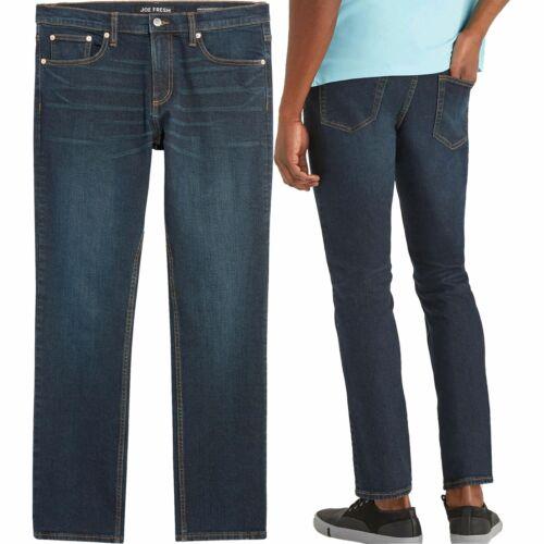 Homme Basique Slim Coupe Droite Jeans Stretch Travail Denim Regular Big Tall Tailles
