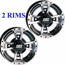 TWO 10x5 4/144 3+2 ITP SS112 Sport RIM WHEEL Honda TRX 450R 300EX 400EX 250R mor
